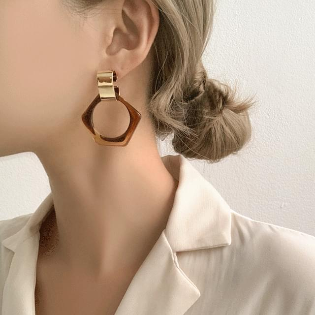 Daily Point Summer Homica Earrings