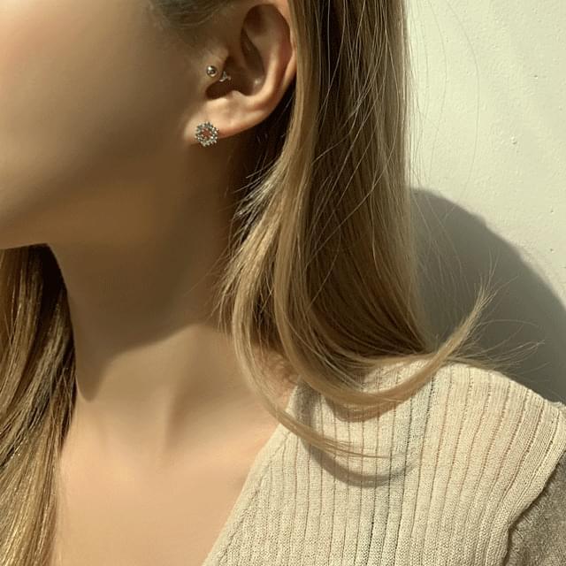 Leeds Pearl Bold Ring Set of 6 Earrings