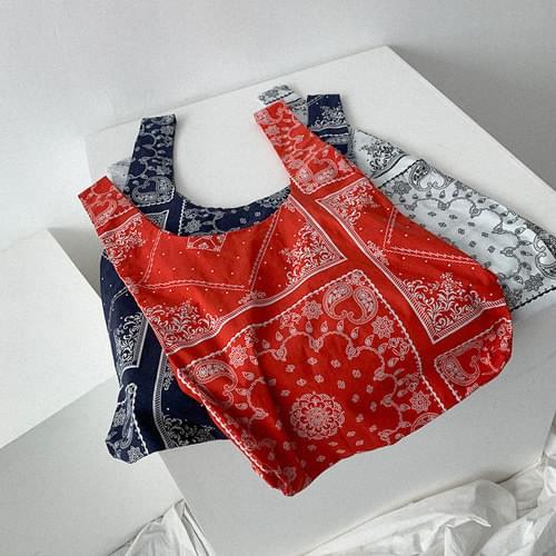 經典佩斯利花紋環保袋