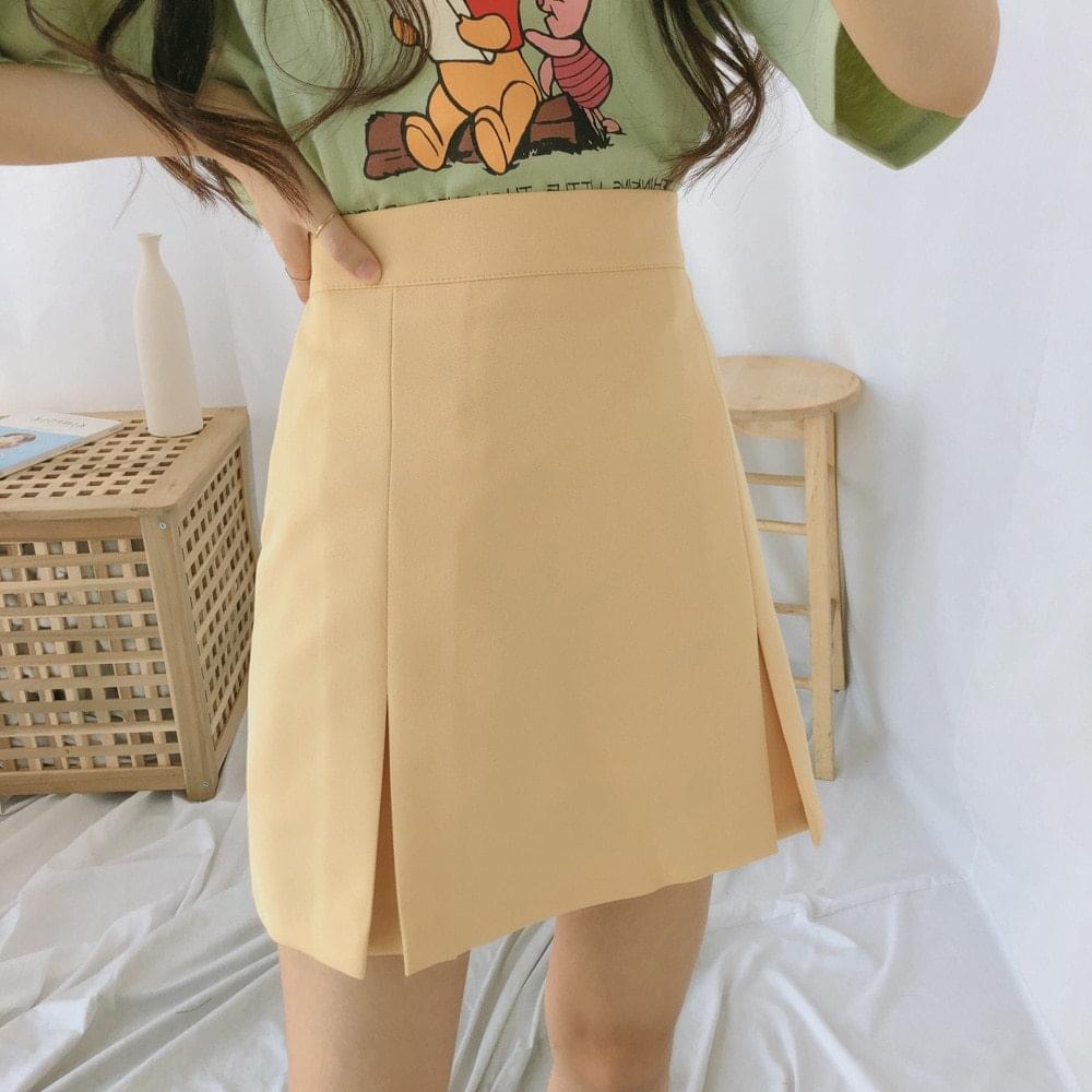シンディサイドスリットスカート (sk0617)
