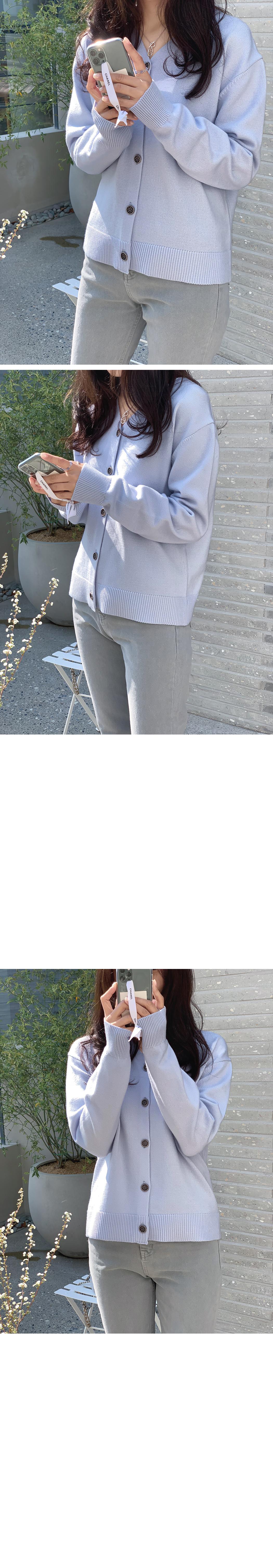 My-littleclassic / Printemps-button cardigan