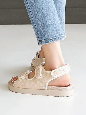 Cavelle quality velcro sandals 3 cm