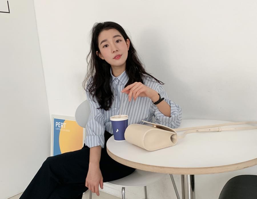 Liner loose stripe shirts_C 襯衫