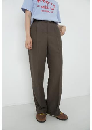 clean standard fit slacks