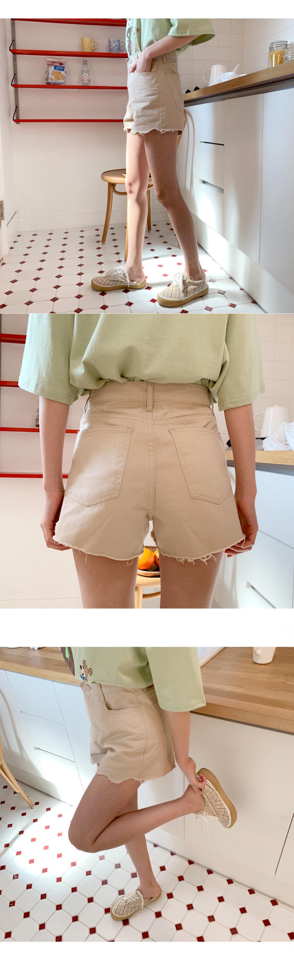 Short-sleeved short pants