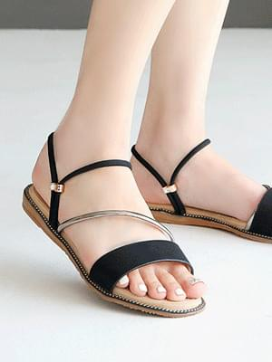 韓國空運 - Garile 2 way sandals 1 cm 涼鞋