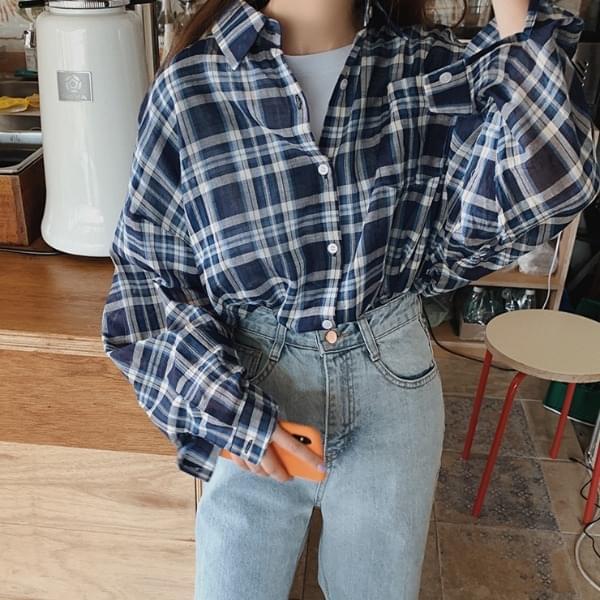 스페노 체크 셔츠
