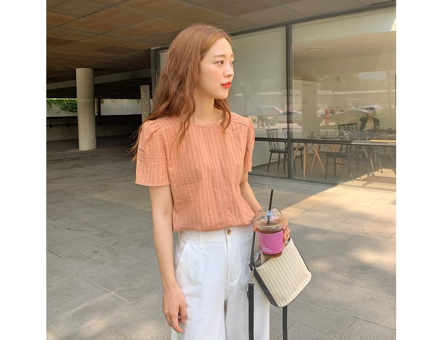 Jasmin lace line blouse_J