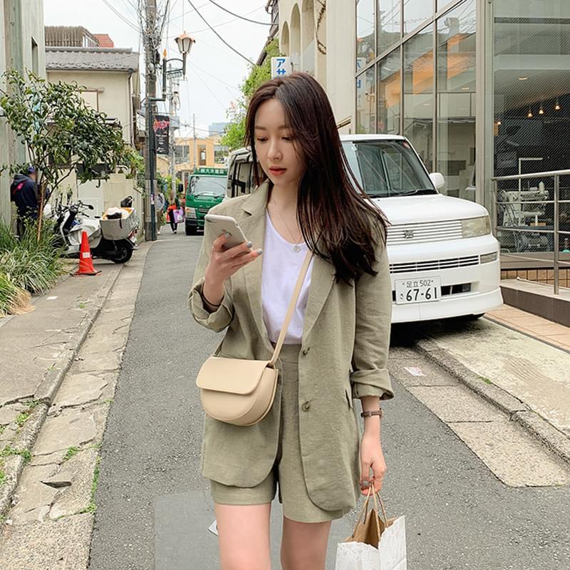 Nature Linen jk 夾克外套