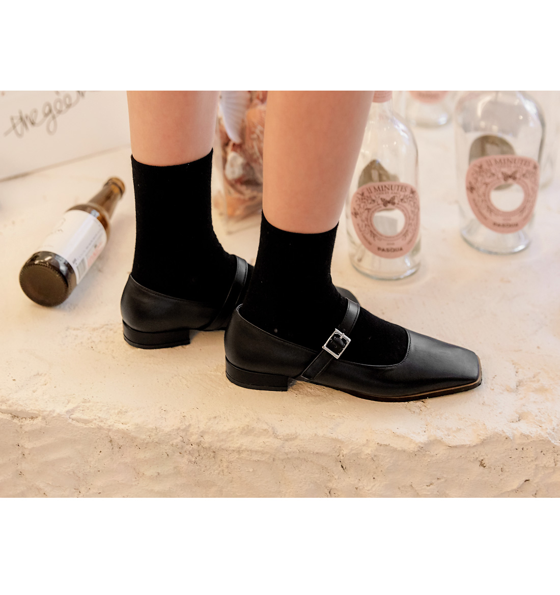 ENNA BUCKLE STRAPPED LOAFER