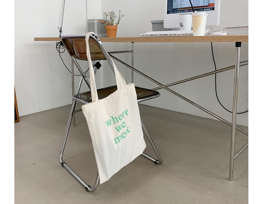 Promise lettering point bag_U (size : one)