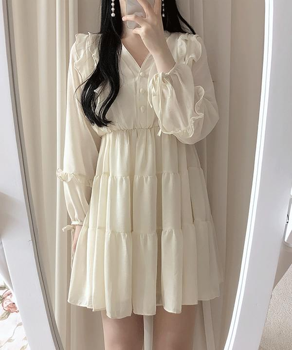 ♥ Charni Frill Ribbon Dress