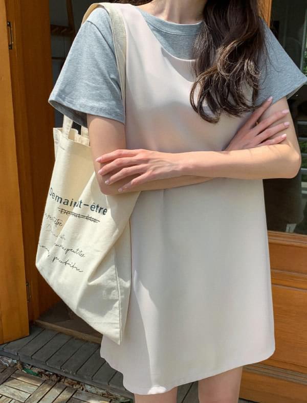 Natural Lettering Eco Bag 帆布包