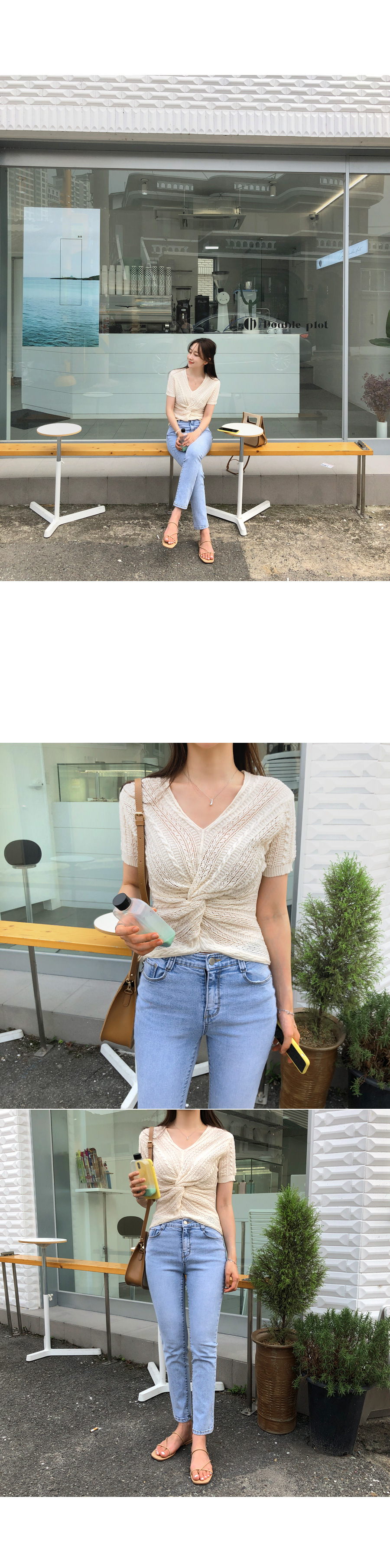 Linen knit
