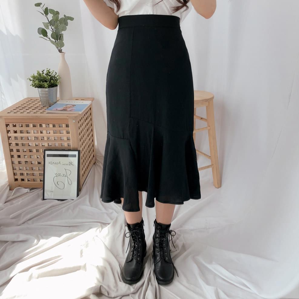 アンバランスマーメイドスカート (sk0622)