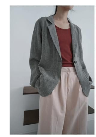 natural linen over jacket (4colors)