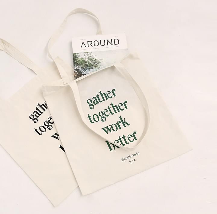 gather簡約印字環保袋