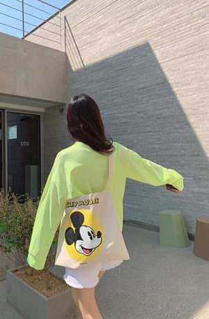 Genuine Disney / 'Micky' canvas bag 帆布包