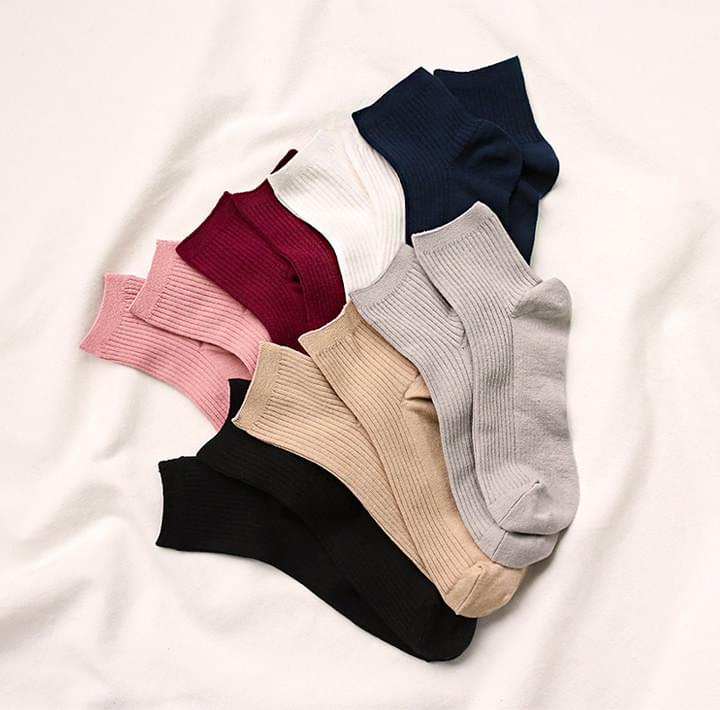 7 COLOR ANCLE GOLGI SOCKS 襪子