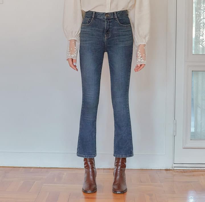 Slim Fit Bootcut Jeans
