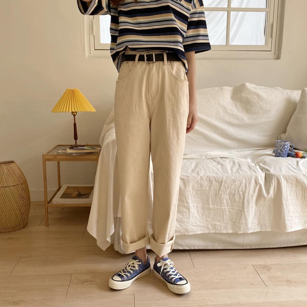 Dendigo Wide Cotton Pants