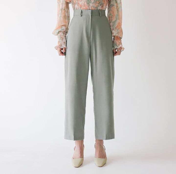 JUCY WOOL BASIC WIDE SLACKS