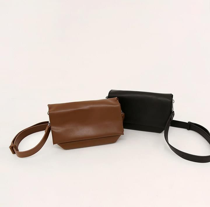 BROL SQUARE LEATHER BAG