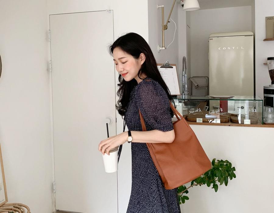 Pot simple shoulder bag_C