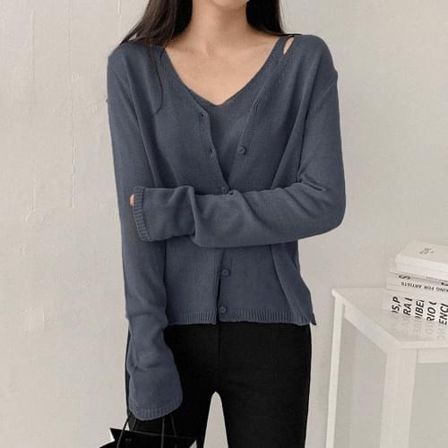 Cozy Cardigan Set Cardigan & Vest