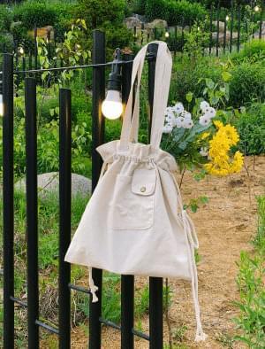 Mini Pocket Cotton Eco Bag 帆布包
