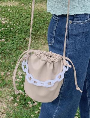 Minimalist chain point demodulation bag 肩背包