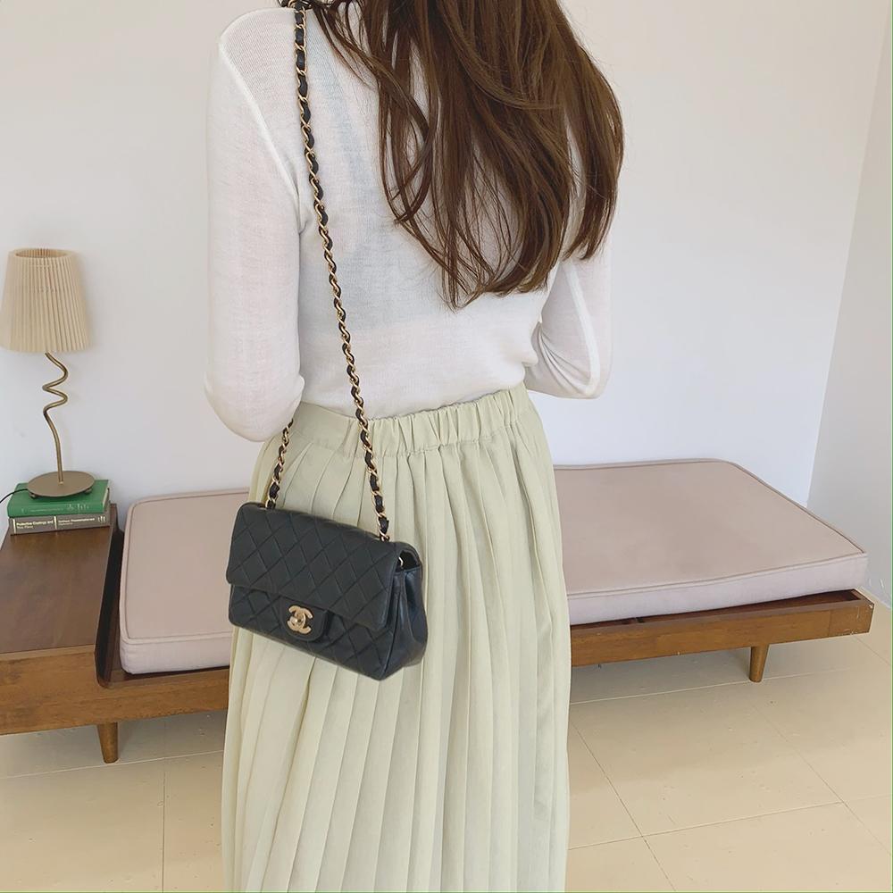 Unbutton button skirt