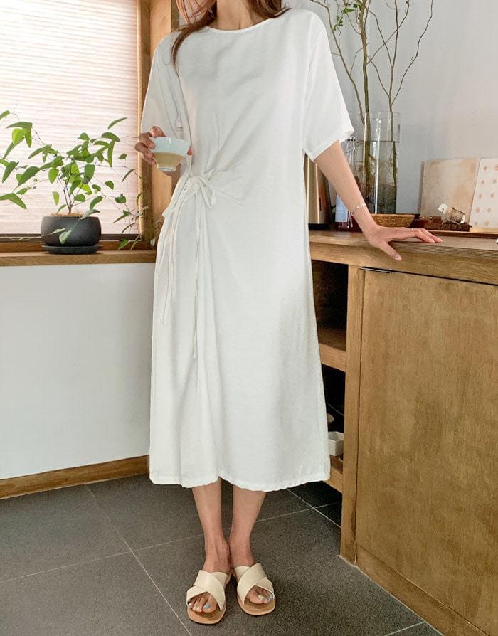 Celti Side Strap Long Dress