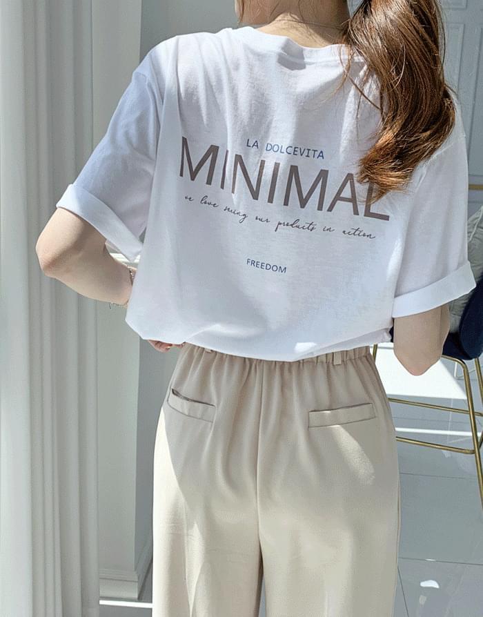 Urban tension modal short sleeve t-shirt