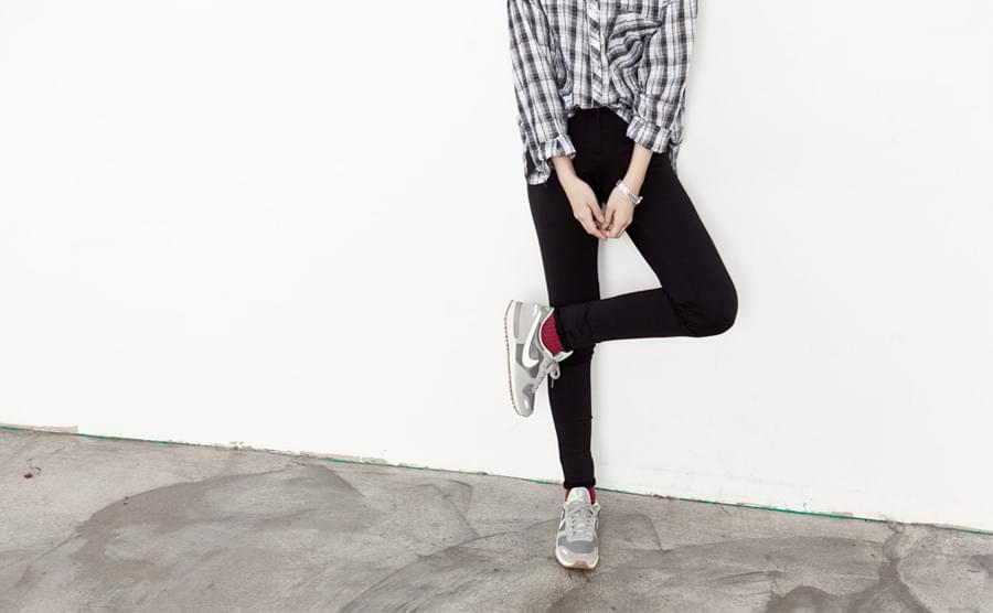 Yell fitted leggings pants