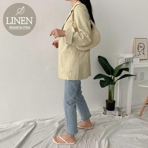 Shuling Linen Jacket jacket