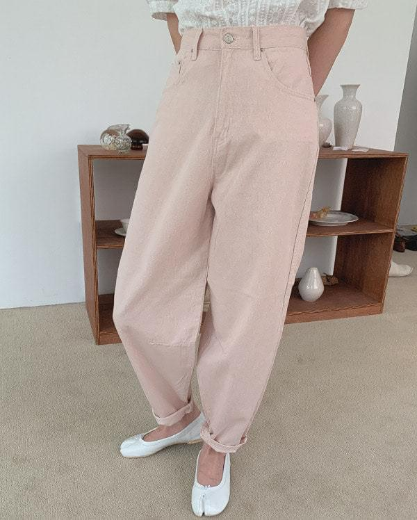Milty wide cotton trousers