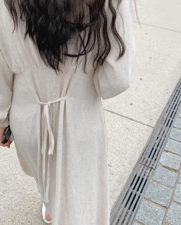 #made some vera linen long dress