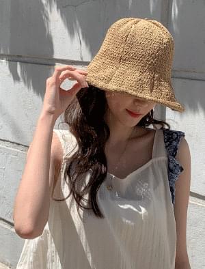 Natural Mood Bitten Hat