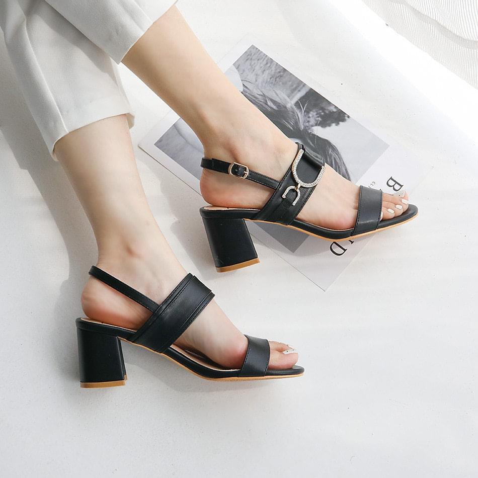 Diveto slingback sandals 6 cm