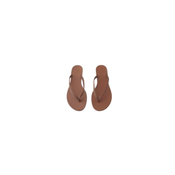 twist simple flip flops