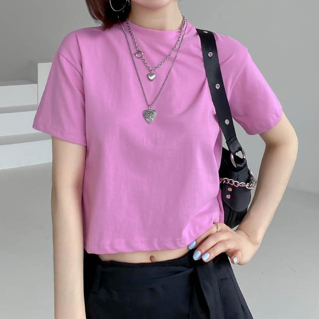 Brit cropped t-shirt