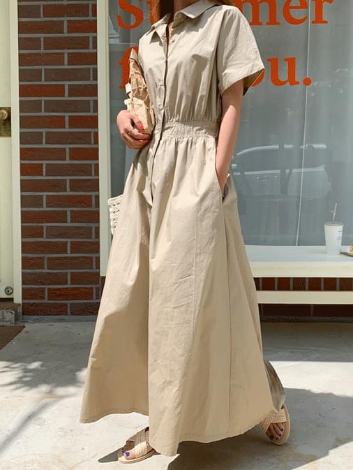 Anne Bread Long Flare Dress
