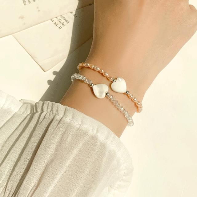 Bead flower mother-of-pearl pearl bracelet collection 10 kinds