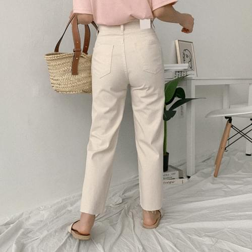 Two-run wide pants