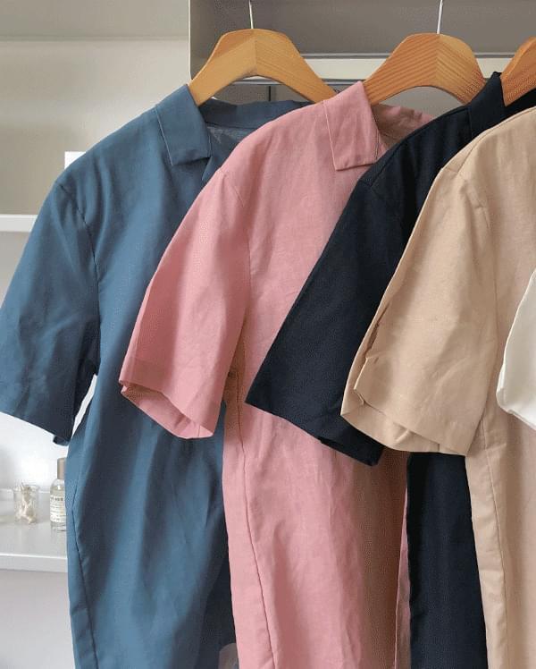 #made some summer jenny linen shirt