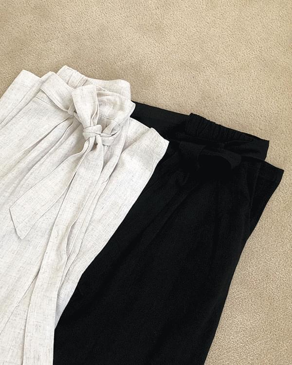 #made some maganda belted linen pants