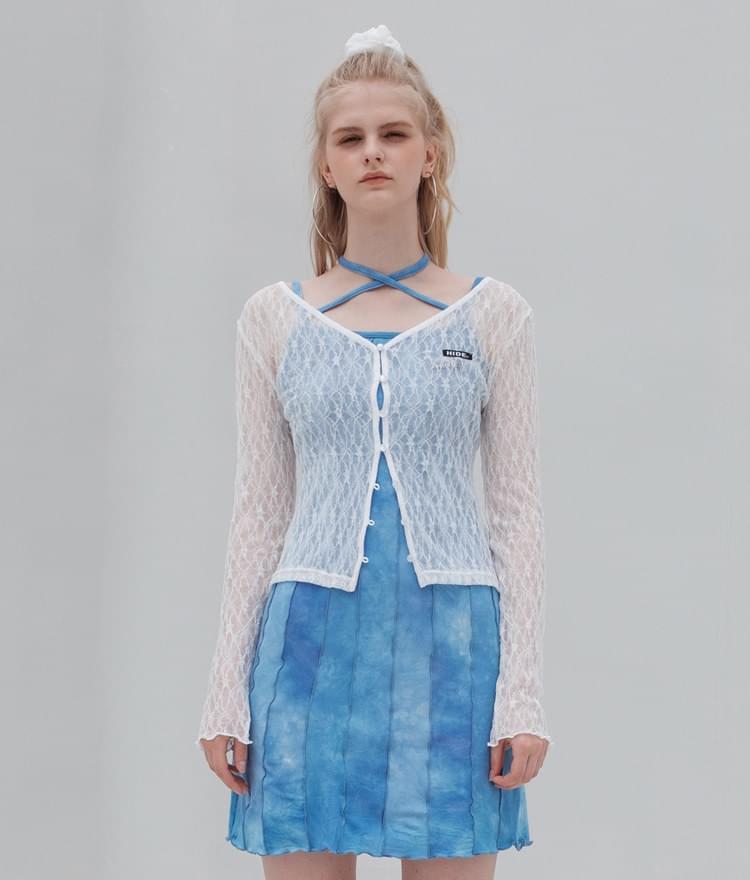 HIDE Lace Cardigan Cardigan & Vest