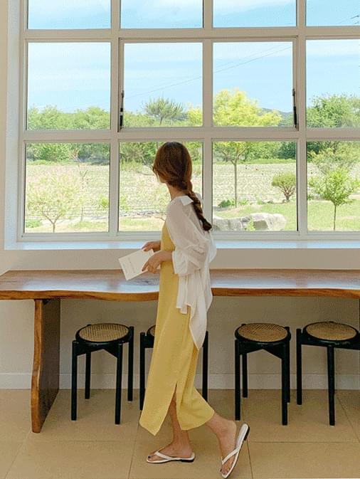 Jenny sleeveless long dress