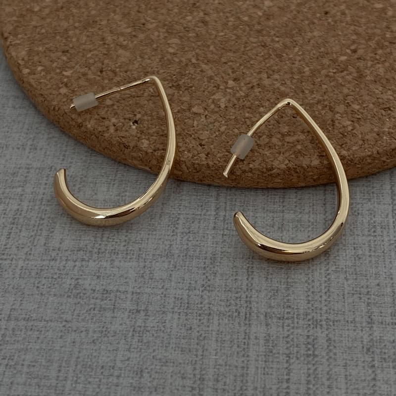 1053 loop shape earrings